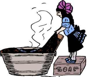 Pre-rinsing laundry